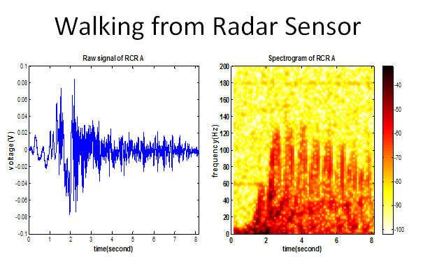 Walking from Radar Sensor